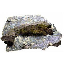 Bornite and Silver Mineral Specimen Mexico,2012aug - Mineral Specimens