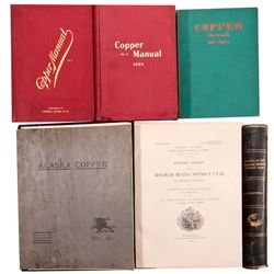 Copper Reference Collection 1905 - 2012aug - Mining Hard goods/Important Mining Publications