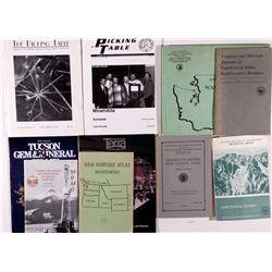 Minerology Ephemera & Maps Assortment 1840-1940 - 2012aug - Mining Hard goods/Important Mining Publi