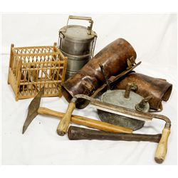 Miners' Lunch Box and Tools 2012aug - Mining Hard goods/Important Mining Publications