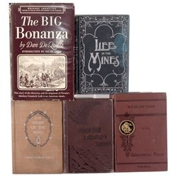 Mining Books c1880-1900 - 2012aug - Mining Hard goods/Important Mining Publications