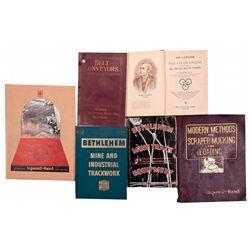 Mining Books & Catalogs Assortment c1900 - 2012aug - Mining Hard goods/Important Mining Publications