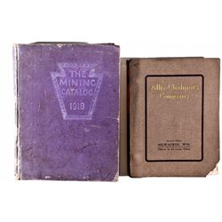 Mining Equipment Catalogs  - , - 1911, 1918 - 2012aug - Mining Hard goods/Important Mining Publicati