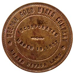 Weepah Gold Mine Wax Seal 2012aug - Mining Hard goods/Important Mining Publications