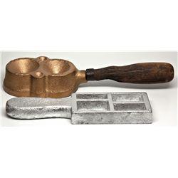 Ingot Mould Pair CA - 2012aug - Mining Hard goods/Important Mining Publications