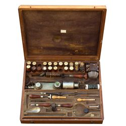 Garthwaite Assay Kit CA - Oakland,Alameda County - c1870 - 2012aug - Mining Hard goods/Important Min