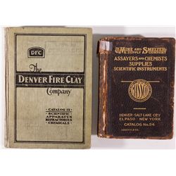 Choice Early Assay Catalogs CO - Denver,1920, 1934 - 2012aug - Mining Hard goods/Important Mining Pu