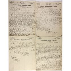 Goldfield and Tonopah Mining Letters NV - , - 1904 - 2012aug - Mining Hard goods/Important Mining Pu