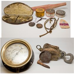 Mining Artifacts & Scales Collection NV - , - c1950 - 2012aug - Mining Hard goods/Important Mining P