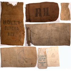 Ore Bag Collection NV - Ely,White Pine County - 1887-1905 - 2012aug - Mining Hard goods/Important Mi