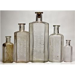 Carson City Nevada Druggist Bottles NV - Carson City,1889-1891 - 2012aug - Nevada Bottles
