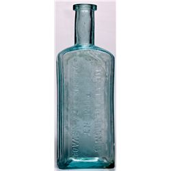 Dr. J. M. Benton Liniment Bottle NV - Carson City,c1885-1892 - 2012aug - Nevada Bottles