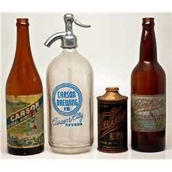 Nevadan Bottle Group NV - Carson City,c1915-1948 - 2012aug - Nevada Bottles