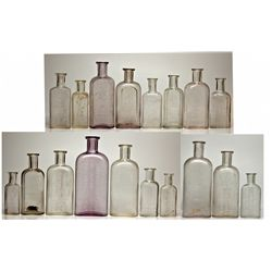 Thaxter Drug Store Bottle Collection NV - Carson City,1878-1887 - 2012aug - Nevada Bottles