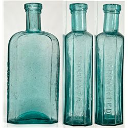 Twiaba Druggist Bottle NV - Elko,c1872 - 2012aug - Nevada Bottles