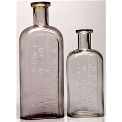 W.H. Stowell Drug Bottles NV - Eureka,c1875-1885 - 2012aug - Nevada Bottles