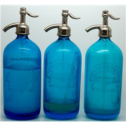 Cobalt Seltzer Trio NV - Reno,Washoe County - c1907-1910 - 2012aug - Nevada Bottles