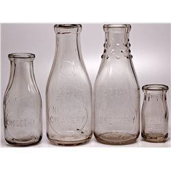 Dairy Bottle Group NV - Reno,Washoe County - c1910-1920 - 2012aug - Nevada Bottles