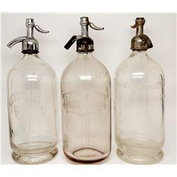 Frank Brothers Seltzer Trio NV - Reno,Washoe County - c1903-1920 - 2012aug - Nevada Bottles