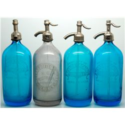 Mixed Cobalt and Wieland Seltzers NV - Reno,Washoe County - c1907-1910 - 2012aug - Nevada Bottles