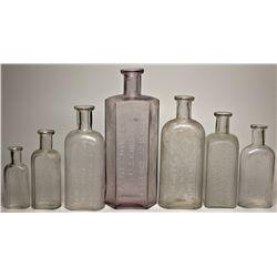 Osburn & Shoemaker Drugstore Bottle Group NV - Reno,Washoe County - 1878-1889 - 2012aug - Nevada Bot