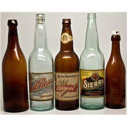 Reno Brewing Company Bottles NV - Reno,Washoe County - c1906-1915 - 2012aug - Nevada Bottles