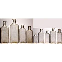 Reno Nevada Druggist Bottles NV - Reno,Washoe County - 1891-1910 - 2012aug - Nevada Bottles