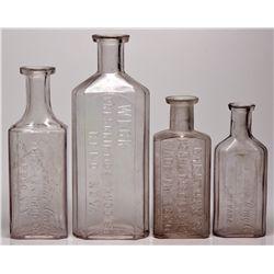 Reno Pharmacy Bottles NV - Reno,Washoe County - 1899 - 2012aug - Nevada Bottles