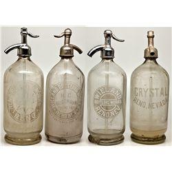 Reno Seltzer Quartet NV - Reno,Washoe County - 2012aug - Nevada Bottles
