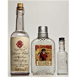 Rhyolite  Bourbon Bottle NV - Rhyolite,Nye County - 2012aug - Nevada Bottles