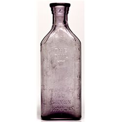 Seven Troughs Owl Pharmacy Co. Bottle - B NV - Seven Troughs,Pershing County - 2012aug - Nevada Bott