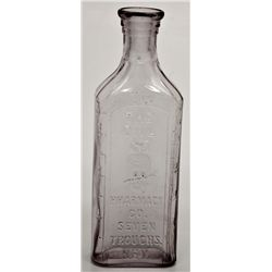 Seven Troughs Owl Pharmacy Co. Bottle - C NV - Seven Troughs,Pershing County - 2012aug - Nevada Bott