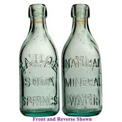 Tahoe Soda Springs Embossed Soda Bottle NV - Tahoe,1910 - 2012aug - Nevada Bottles