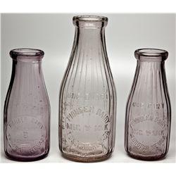 Pioneer Dairy Bottles NV - Tonopah,Nye County - c1920 - 2012aug - Nevada Bottles