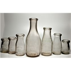 Tonopah Pioneer Dairy Bottle Collection NV - Tonopah,Nye County - 1910-1920 - 2012aug - Nevada Bottl