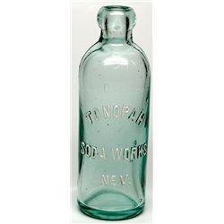 Tonopah Soda Works Bottle NV - Tonopah,Nye County - c1901 - 2012aug - Nevada Bottles