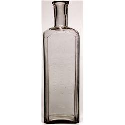 A.M. Cole Druggist Bottle NV - Virginia City,Storey County - c1864 - 2012aug - Nevada Bottles
