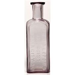 Dr. J. B.B. Lefevre Bottle NV - Virginia City,Storey County - c1868-1875 - 2012aug - Nevada Bottles