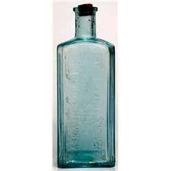 Dr. J.B.B. Lefevre Drugstore Bottle NV - Virginia City,Storey County - 1868-1878 - 2012aug - Nevada
