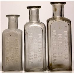 M. Webster Bottles NV - Virginia City,Storey County - 2012aug - Nevada Bottles