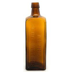 Thomas Taylor & Co. Bitters Bottle NV - Virginia City,c1888-1896 - 2012aug - Nevada Bottles