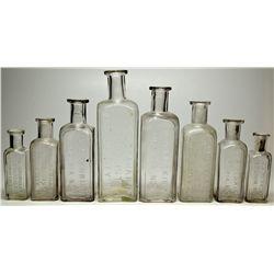 Virginia City Druggist Bottles NV - Virginia City,Storey County - c1875-1907 - 2012aug - Nevada Bott