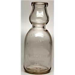 Wheelerville Cream Top Bottle NV - Wheelerville,Washoe County - 2012aug - Nevada Bottles