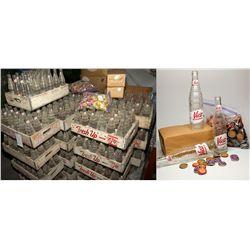Humboldt Soda Works Unused Soda Bottles & Caps NV - Winnemucca,Humboldt County - 2012aug - Nevada Bo