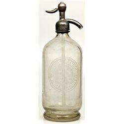 Rare Seltzer Bottle NV - Winnemucca,Humboldt County - c1901-1907 - 2012aug - Nevada Bottles