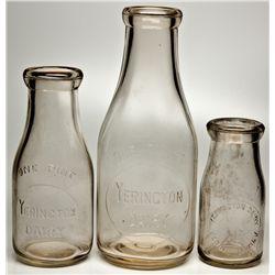 Yerington Dairy Bottles NV - Yerington,Lyon County - 2012aug - Nevada Bottles