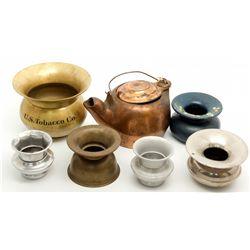 Miniature Spittoon Collection 2012aug - Saloon