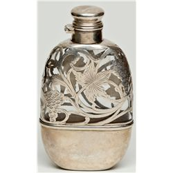 Sterling Silver Flask  - , -  - 2012aug - Saloon