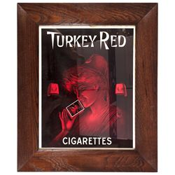 Turkey Red Cigarettes Poster  - , - c1940-1950 - 2012aug - Saloon