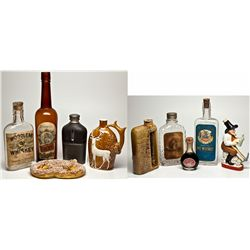 Whiskey Bottles, Flasks, and Souvenir Collection 2012aug - Saloon